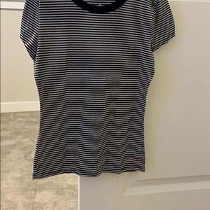 A stripped shirt